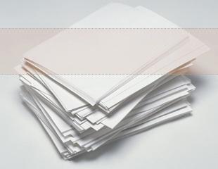 """生活に身近なリサイクル「再生紙」について 再生紙 """"もったいない""""その紙は再生できる! 日本では"""