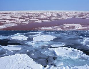 オホーツク海の流氷』 - 北海道...